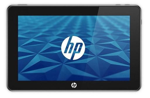 PalmPad - новый планшетный компьютер от HP
