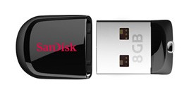 Флешка 8Гб SANDISK Cruzer Fit USB